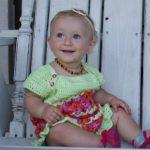Crochet Baby Dress - CrochetforBabies.com
