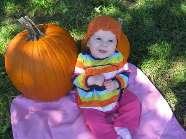 Pumpkin Beanie - Crochet for Babies